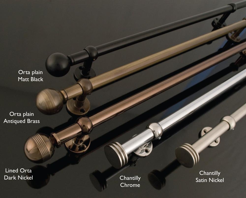 Metallic poles 14mm diameter