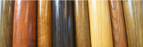Wood Finishes Available